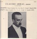 Claudio Arrau - Chopin / Liszt