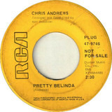 Pretty Belinda / Maker Of Mistakes - Chris Andrews