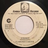 Strokin' / Love Me With Feeling - Clarence Carter