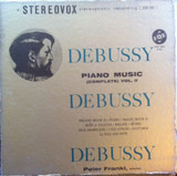 Debussy Piano Music (Complete) Vol. II - Claude Debussy , Peter Frankl