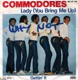 Lady (You Bring Me Up) / Gettin' It - Commodores