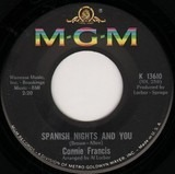 Spanish Nights And You / Games That Lovers Play - Connie Francis