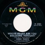 Whose Heart Are You Breaking Tonight? - Connie Francis