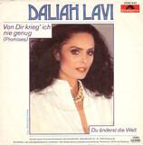 Von Dir Krieg' Ich Nie Genug (Promises) - Daliah Lavi