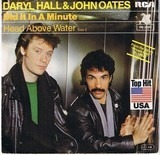 Did It In A Minute - Daryl Hall & John Oates