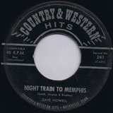 NIght Train to Memphis / Saginaw, Michigan - Dave Howell / Jack White