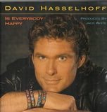 Is everybody happy - David Hasselhoff