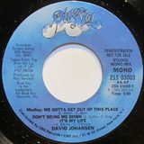 Medley: We Gotta Get Out Of This Place / Don't Bring Me Down / It's My Life - David Johansen