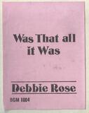 Debbie Rose