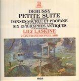 Petite Suite.., Danses.., Six Epigraphes..; Lily Laskine, Orch de Chambre JF Paillard - Debussy