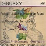 Prelude A L'Apres-Midi d'un faun / 1st Rhapsody f. clarinet / Les Jeux - Debussy - S. Baudo