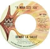 A Man Size Job / I'm Over You - Denise LaSalle