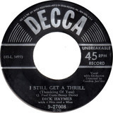 I Still Get A Thrill (Thinking Of You) / Roses - Dick Haymes With 4 Hits And A Miss