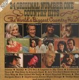 24 Original Number One Country Hits - Dolly Parton / Dickey Lee / Ronnie Mislap a.o.