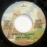 Rumble In The Jungle / We Can't Make It No More - Don Covay