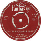 You're Driving Me Crazy / Gee Whiz It's You - Don Duke
