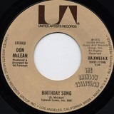 Birthday Song - Don McLean