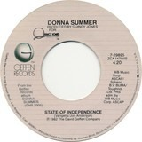 State Of Independence - Donna Summer