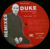 So In Love With You Remixes - Duke