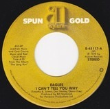 I Can't Tell You Why / James Dean - Eagles