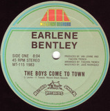 The Boys Come To Town - Earlene Bentley