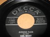 Evening Rain - Earl Grant