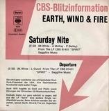 Saturday Nite - Earth, Wind & Fire