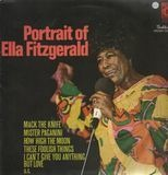 Portrait Of Ella Fitzgerald - Ella Fitzgerald