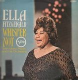 Whisper Not - Ella Fitzgerald With Marty Paich Orchestra