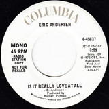 Is It Really Love At All - Eric Andersen
