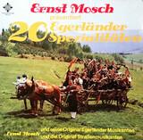 20 Egerländer Spezialitäten - Ernst Mosch Und Seine Original Egerländer Musikanten , Ernst Mosch Und Die Original Straßenmusikant