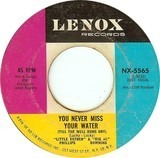 You Never Miss Your Water (Till The Well Runs Dry) / If You Want It (I've Got It) - Esther Phillips & Al Downing
