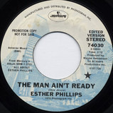 The Man Ain't Ready - Esther Phillips