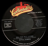 All The Way Down / Out On The Street Again - Etta James