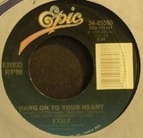 Hang On To Your Heart / She Likes Her Lovin' - Exile