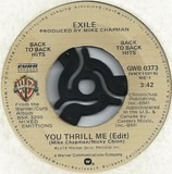 You Thrill Me / Kiss You All Over - Exile