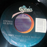 I Don't Want To Be A Memory / After All These Years (I'm Still Chasing You) - Exile