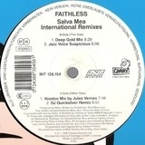 Salva Mea (International Remixes) - Faithless