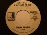 Got To Get A Message To You - Fanny Adams