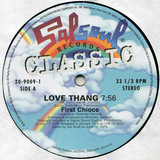Love Thang / No Stoppin' That Rockin' - First Choice / Instant Funk