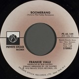 Boomerang / Look At The World It`s Changing - Frankie Valli