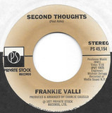 So She Says / Second Thoughts - Frankie Valli