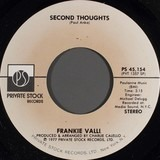 Second Thoughts - Frankie Valli