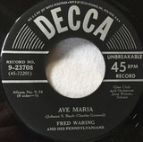 Ave Maria / Now the Day Is Over - Fred Waring & The Pennsylvanians