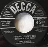Nobody Knows The Trouble I've Seen / Sometimes I Feel Like A Motherless Child - Fred Waring & The Pennsylvanians