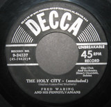 The Holy City - Fred Waring & The Pennsylvanians