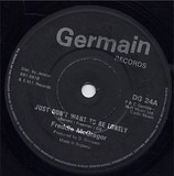 Just Don't Want To Be Lonely / Revolutionary Rock - Freddie McGregor / Germain All Stars