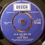So In Love With You / Living To Love - Freddy Breck