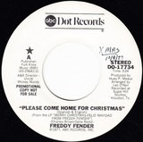 Please Come Home For Christmas / Christmas Time In The Valley - Freddy Fender