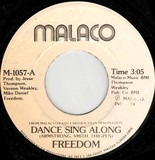 Dance Sing Along / Set You Free - Freedom